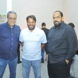 Bartolome Pellado, Alexander Villavizar y Moises De Jesus.