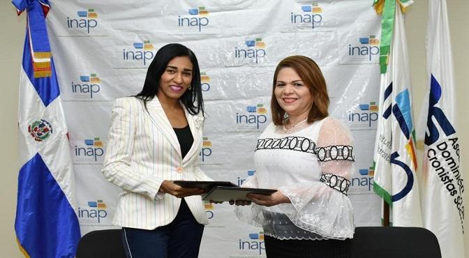 Rosa Arredondo-Celenia Vidal-Firma Acuerdo INAP y ADCS