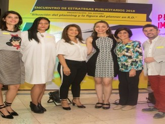 Laura Vicens, Dionni Vargas, Soraya Pina, Wanda Cardenes, Tansi Santos y Francesco Abbatescianni
