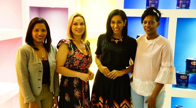 Dilenys Ecangeslista, Erika Barroso, Rosa Arredondo y Yubelkys Mejia