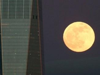 El eclipse coincidió con el máximo acercamiento de nuestro satélite a la Tierra.