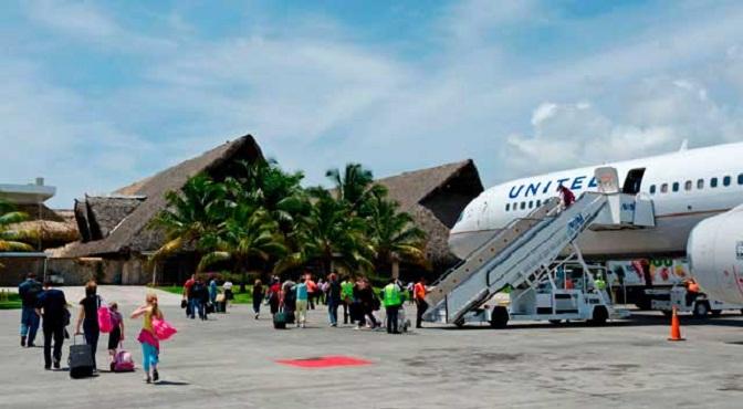 Aeropuerto Punta Cana moviliza casi el 70% de los turistas en 2018