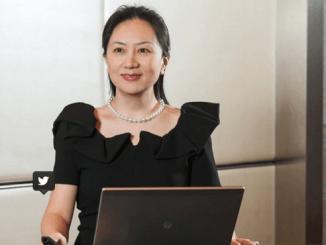 Meng Wanzhou es hija del fundador de la empresa Ren Zhengei (Huawei)