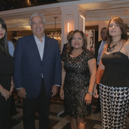 Adlig Aquino, José Ramón Martínez, Nurys Marte y Lourdes González.