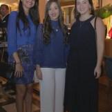 Hana González, Luz De los Santos y Ana Martí.