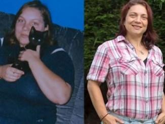 El antes y después de Dawn Chappell.