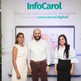 Ruth Flores, Braulio Pichardo y Meleny Cabral.