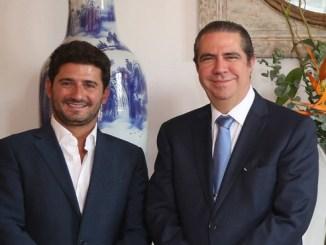 Gibran Chapur y Francisco Javier García