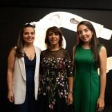 Jeimy Cepeda, MIldred Minaya e Ivanna Reid.