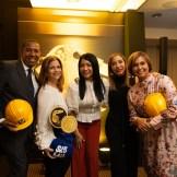6. Alfredo Maríñez, María Concepción, Anny Alba, Xiomara Lajara y Lisette Veloz.