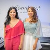 Saidy Fabián y Karina Fabián