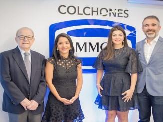 Juan José Attias, Yadira Castillo, Maricarmen Attias y Juan José Attias C.