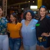 Oriana Rodríguez, Onelica Mercedes, Walkiria Rodríguez y Sandra Del Rosario.