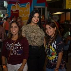 Yesica Encarnación, Arianna Garrido y Daiyelin Encarnación.