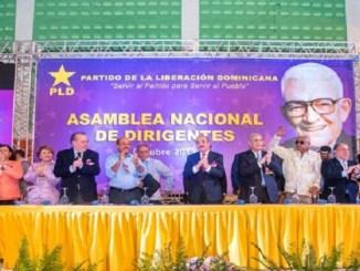 En el pleno nacional de dirigentes se convocó al Comité Político del PLD.