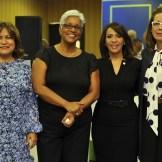Nurys Marte, Altagracia Salazar, Mildred Minaya y Ana Mitila Lora