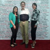 Alexandra Cornelio, Salvador Berges y Priscilla Velazquez Rivera