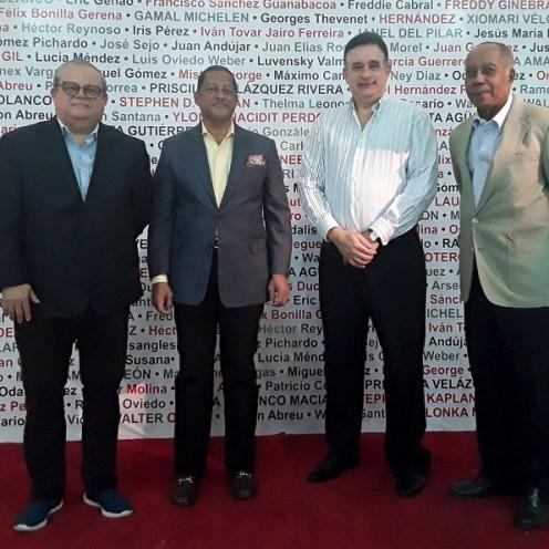 Alfonso Quiñonez Mayovanex Vargas, Fernando Báez y Freddy Javier