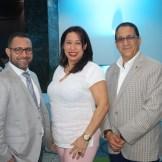 Arturo Porro, Yokaira Rodriguez y el Dr Felix Jimenez