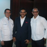 Emiliano Gonzales, Miguel Rosa y Roberto Mercader