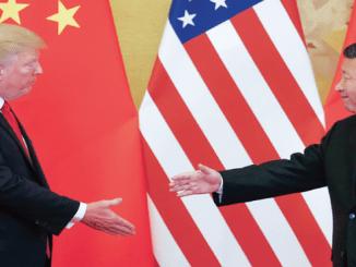 Los presidentes de EEUU, Donald Trump, y de China, Xi Jinping