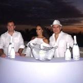 David Guilbault, Joelle Coulange y Alejandro Bavestrello.