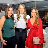 Susana Simó, Iris Van Ne y Claudia Veras.