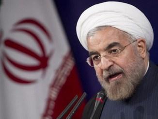El presidente de Irán Hassan Rouhani
