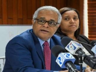 El ministro de Salud Pública, Rafael Sánchez Cárdenas, vocero de la Comisión Nacional para el Manejo del Coronavirus.