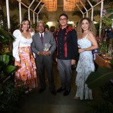 Annie Veloz, Ricardo García, Bismark Moralez y Laura Freitas