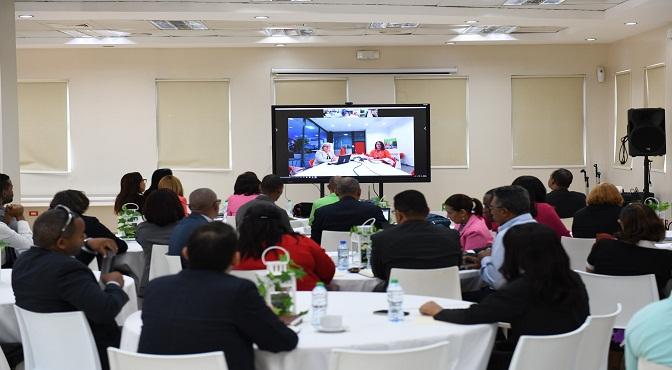 Docentes del INFOTEP en capacitación desde Finlandia a través de videoconferencia
