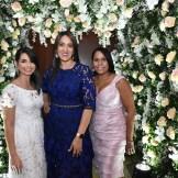 Lissette Gonzalez, Sulgenia Uceta y Belinda Lora.