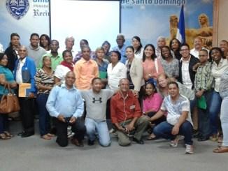 Representantes de la Red Ciudadana por la Seguridad y la Justicia