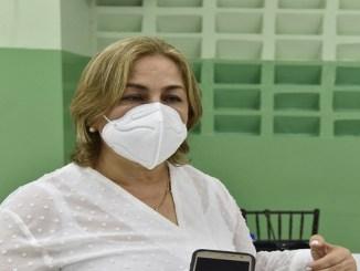 Olga Espaillat, presidenta de la Unión Dominicana de Instituciones Educativas Privadas (UDIEP)