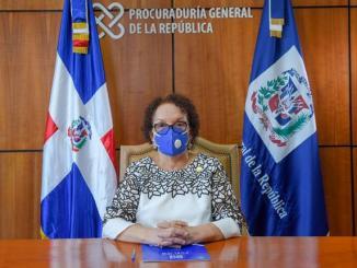 Miriam Germán Brito encabezó una reunión con su equipo de procuradores abjuntos para ver las estrategias de trabajo de la Procuraduría General de la República.