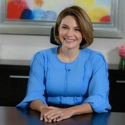 La presidenta del Voluntariado Banreservas, Noelia García de Pereyra.
