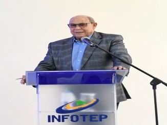 Rafael Santos, director general del INFOTEP