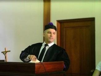 El licenciado Henry Domínguez, Juez presidente de la Cámara Civil y Comercial del Juzgado de Primera Instancia del distrito judicial de Santiago.