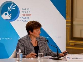 directora gerente del FMI, Kristalina Georgieva