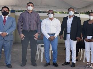 Ivan Salcedo, Paul Rojas, Jorge Carela, Aristofanes Rosario y Santa de Jesus Gonzalez