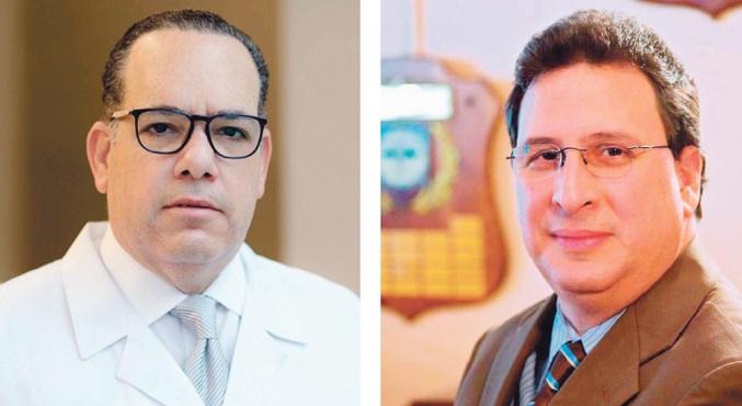 Los doctores José Rafael Yunen y José Brea del Castillo