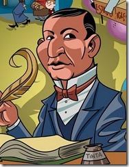 benito Juarez dibujo a color