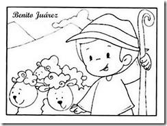 benito Juarez niño pastor