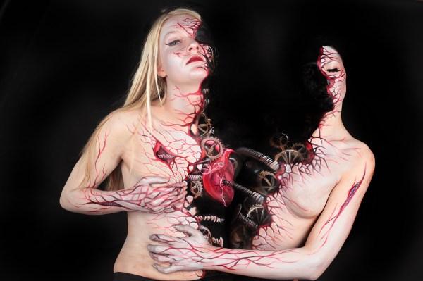 7 - Cuerpos Pintados