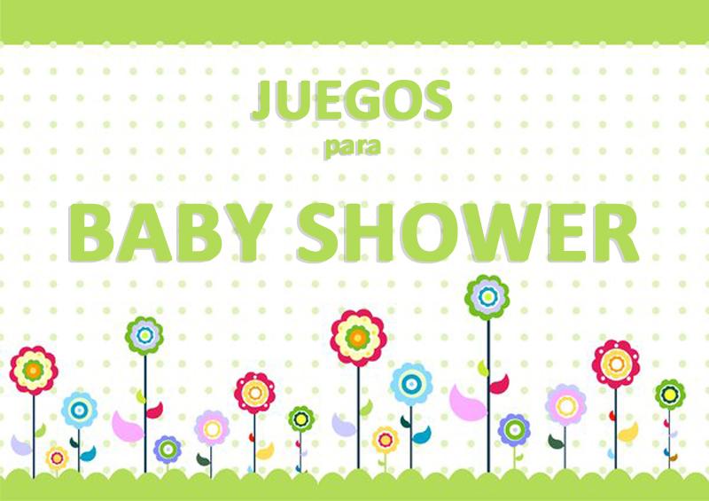 juegos baby shower imprimir