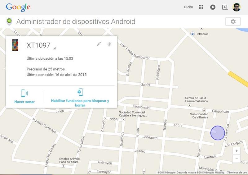 encontrar mi telefono android perdido
