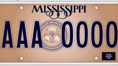 "Mississippi Car Tags Will Have ""In God We Trust"""