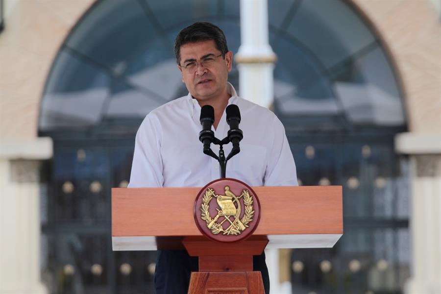 Juan Orlando Hernández, presidente de Honduras.
