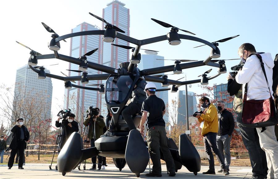 taxis voladores tecnología