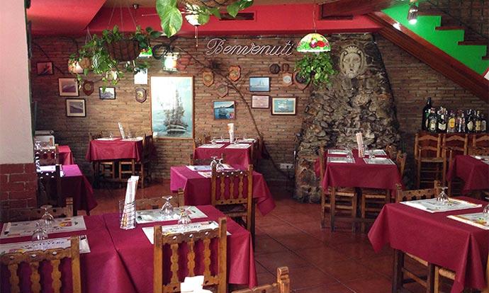 Restaurante italiano  Despedidas de Soltero Malaga